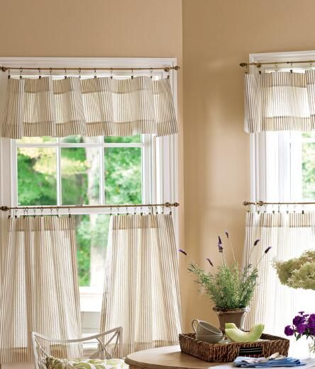 Best 25 Cafe Curtains Ideas On Pinterest Cafe Curtains Kitchen Kitchen Window Curtains And