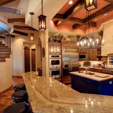 132 best Hacienda Spanish Ranch Kitchen images on Pinterest ...