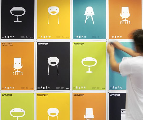 JasonL Furniture Identity by Jason Little, via Behance