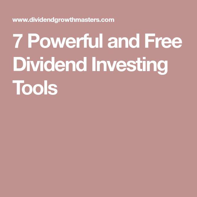 7 best Dividends images on Pinterest