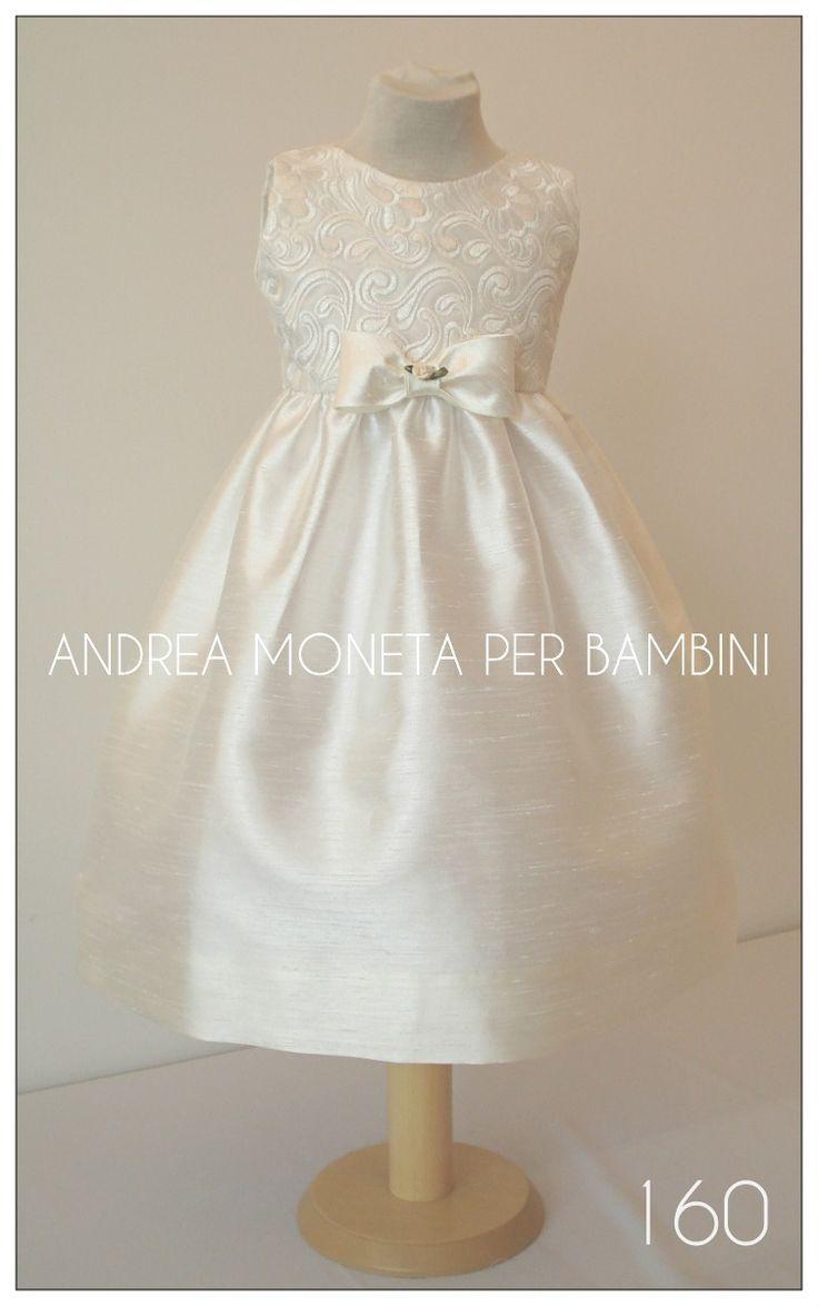 Vestido Fiesta Bautismo Bebe Niña Casamiento Nena Moneta 160 - $ 1.690,00 en MercadoLibre