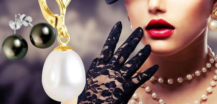 [Vente Du Diable] Perles de culture : Pensez à la #Fêtesdesmères qui approche !   #ideescadeaux #bijoux #Mode #inspiration #bagues #bracelets #colliers #venteprivee