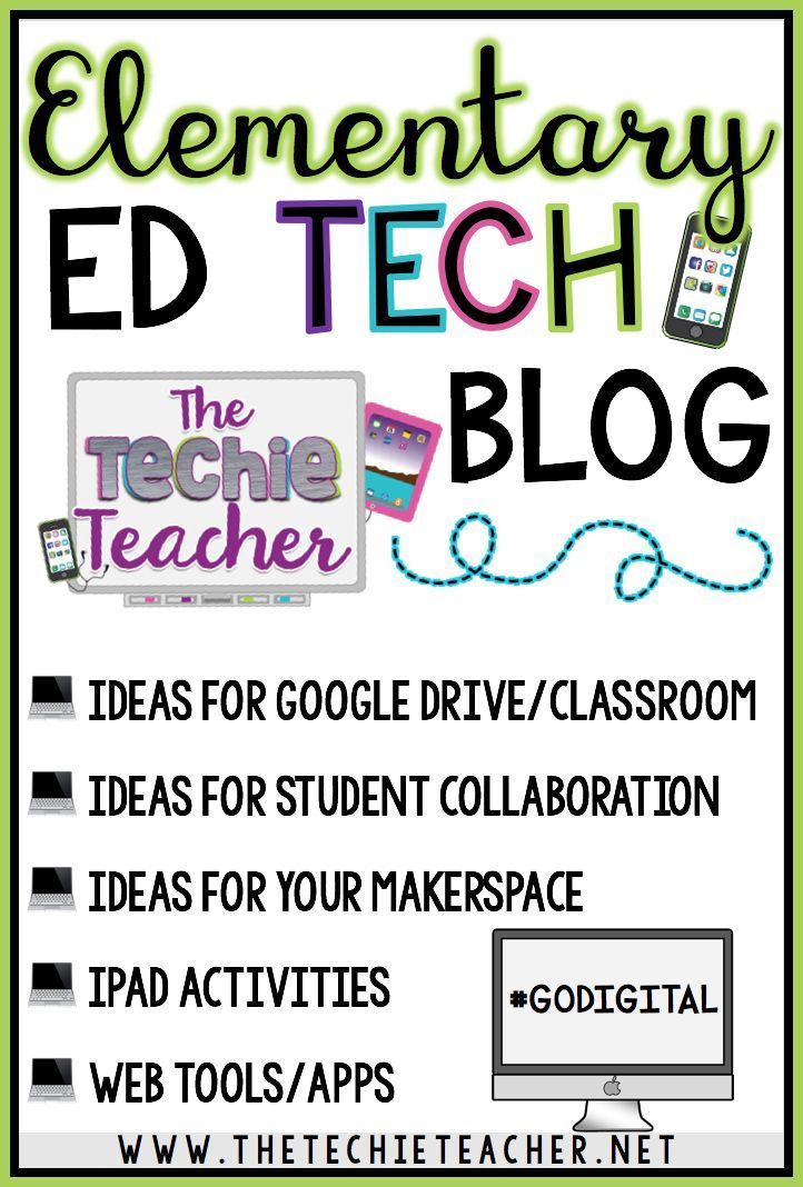 Do you like to learn about new techie tools and how to incoporate them into your curriculum in meaningful ways? Then follow The Techie Teacher's b…