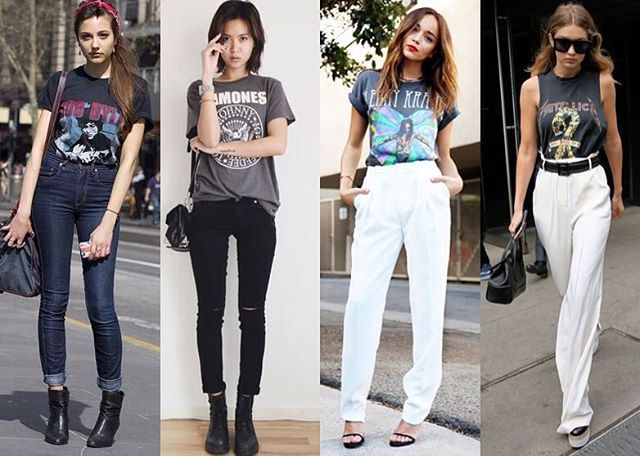 Como usa: camiseta de banda com calça! Quem diria que ficaria tão incrível com uma calça de alfaiataria não é mesmo? #achadosdalua #dicasdalua #comousar #tshirt #camiseta #rock #rocktshirt #ramones #metalica #fashion #moda #dicasdeestilo #estilo #stylingtips #salvador #bahia