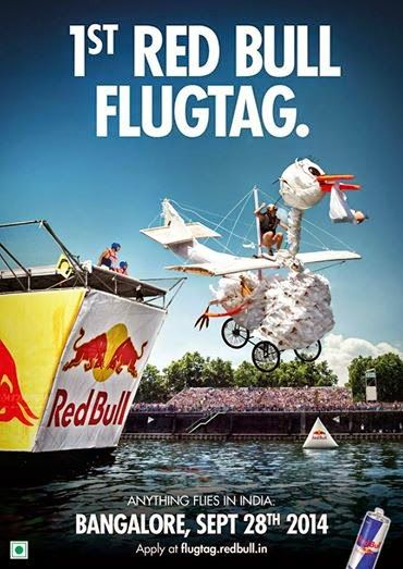 Red Bull Flugtag - anything flies in India | Music Malt   WHEN?  September 28, 2014, 11 AM WHERE? Sankey Tank, Gayathri Nagar, Sadasivanagar, Near The Vyalikaval Circle, Bangalore