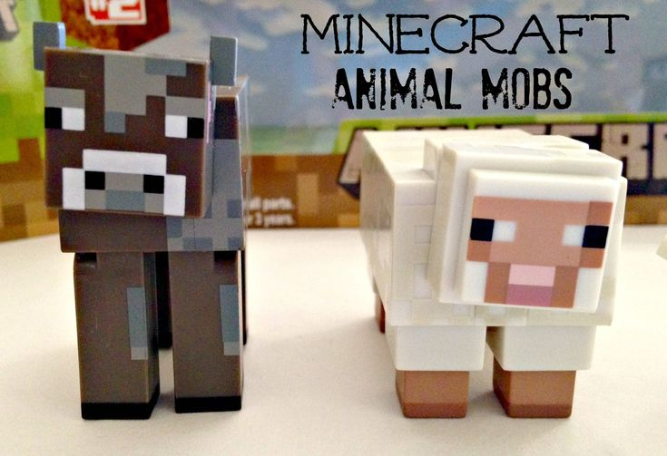 Minecraft Overworld Animal Mob Toys