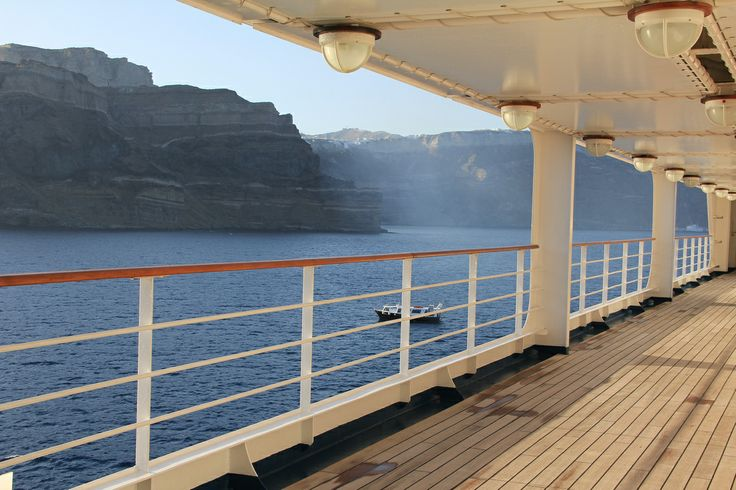 The Deck Of A Silversea Cruise Travel Vacation Luxury Visit