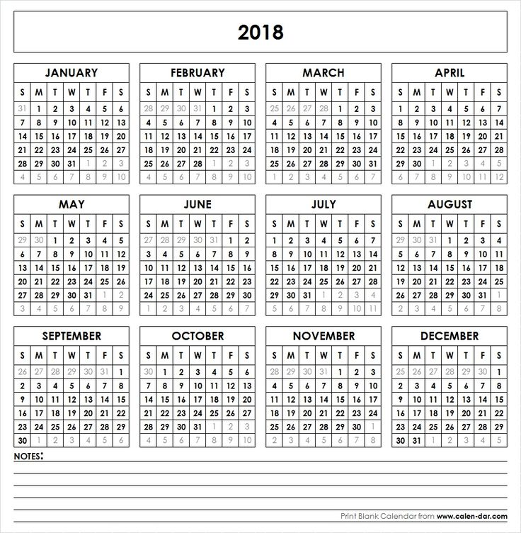 Best 25 calendar 2018 ideas on pinterest for Usable calendar template