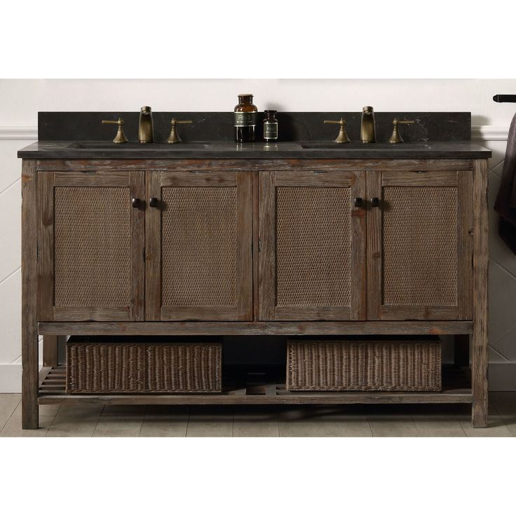 25 best ideas about 60 inch vanity on pinterest double - 60 inch unfinished bathroom vanity ...