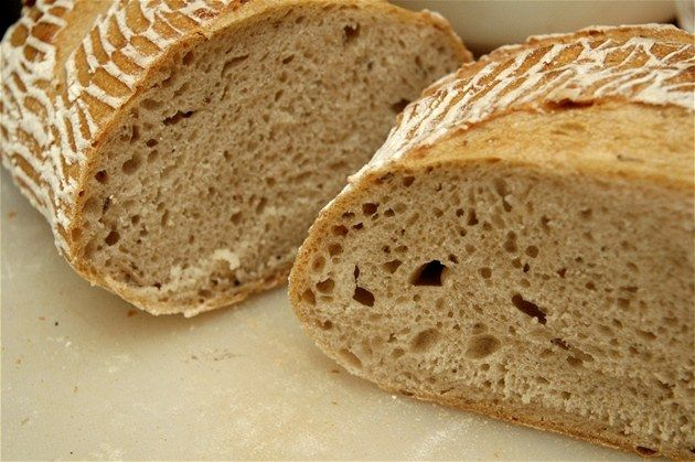 Amazing Czech bread. I now have a recipe to try baking it myslef! :)