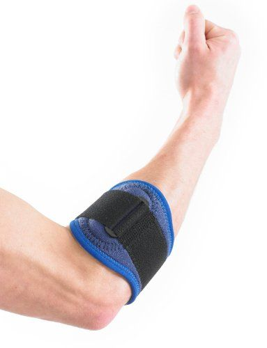 UK Golf Gear - NEO G Tennis/Golf Elbow Strap - Medical Grade Quality HELPS with epicondylitis, Tennis/Golfers elbow, sprains & repetitive strain injuries, relieves tendonitis and forearm Pain – ONE SIZE Unisex Brace