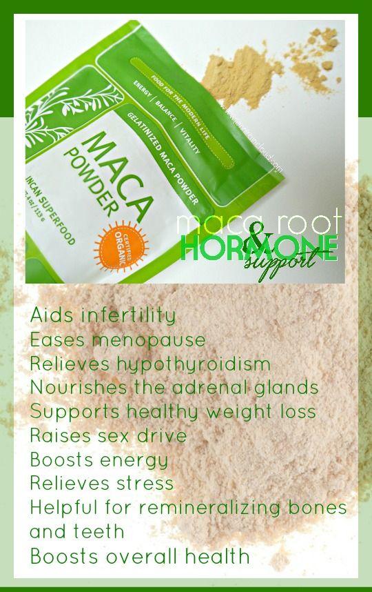 Balance Hormones with Maca Root!
