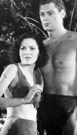 Me Tarzan, You Jane!    Maureen O'Sullivan and Johnny Weismuller