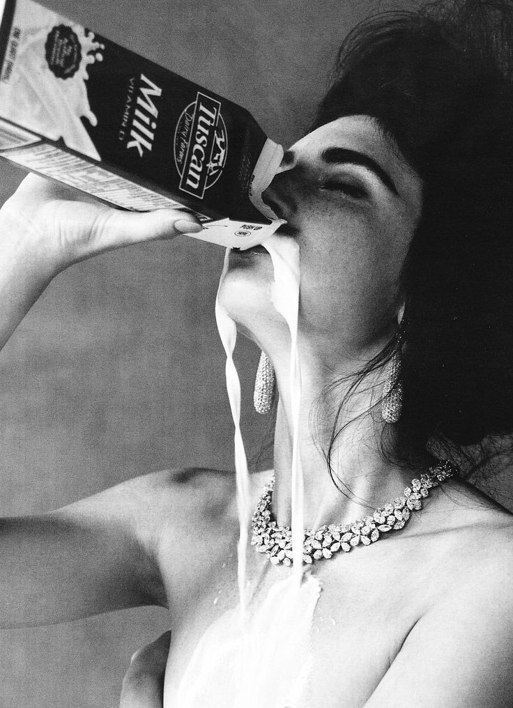 Um, drink up, we guess?: Fashion Models, Victor Demarch, Milk, Art, Vogue Germany, Fashion Photography, Photography Inspiration, Das Pure, Jacquelyn Jablonski
