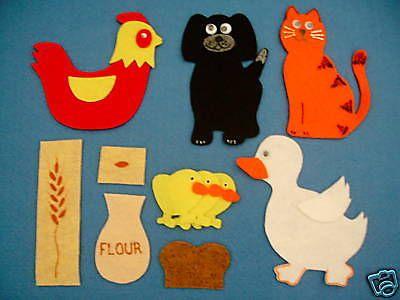 The-little-red-hen-felt-board-flannel-board-story-set