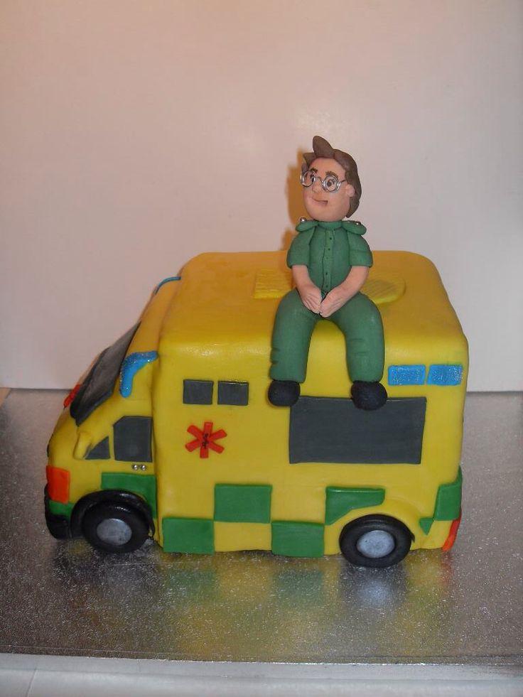 Ambulance Cake Designs