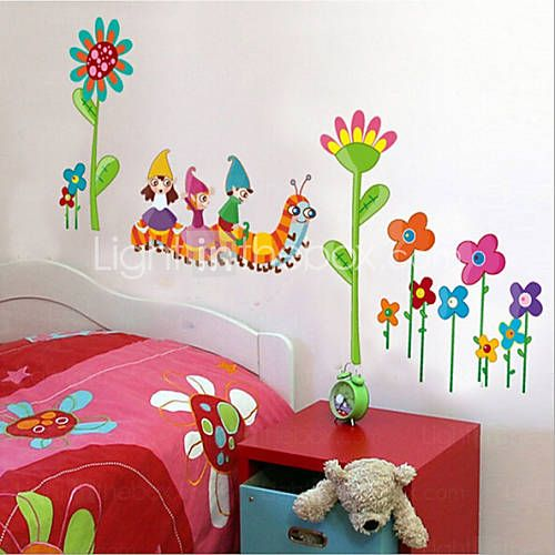 75 best images about wall stickers on pinterest cartoon nanning and kunst - Verwijderbare decoratieve muur ...