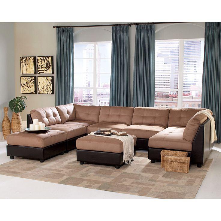 Die besten 25+ Wohnzimmer mit braunen Sofas Ideen auf Pinterest - wohnzimmer braunes sofa