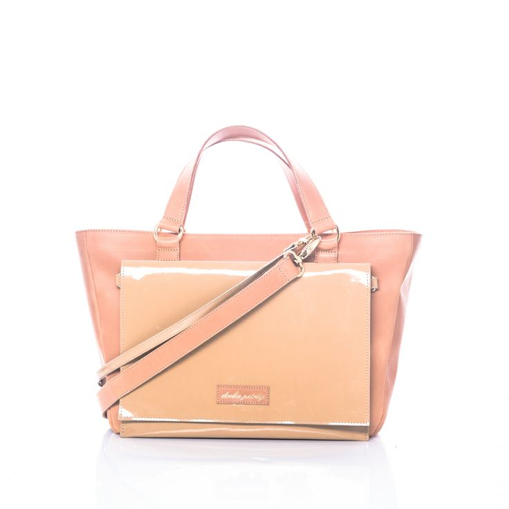 Petrity Dorka 2in 1 handbag, tote and clutch