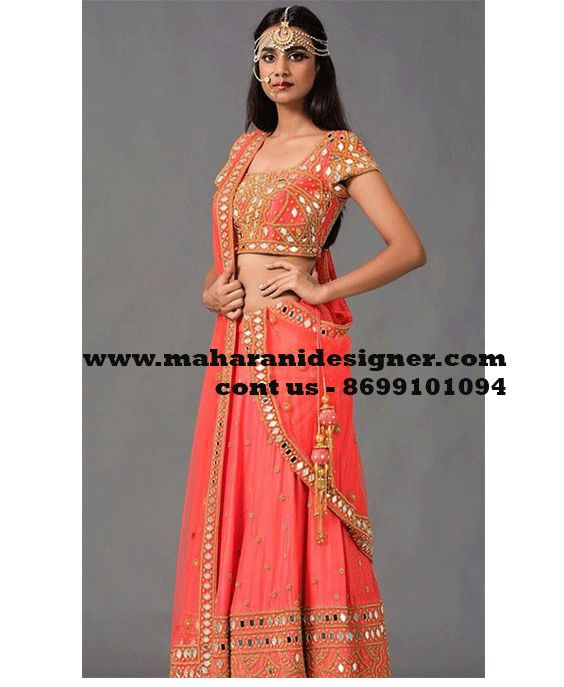 Designer Lehenga Online - Latest Heavy Engagement lehenga -Party wear lehenga Buy online - Beautiful Lehenga online in Taran taran - Jalandhar-Punjab-India