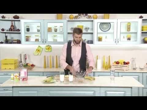 http://goo.gl/r9Faau  Wellness by Oriflame - Мужчина на кухне - Банановый смузи