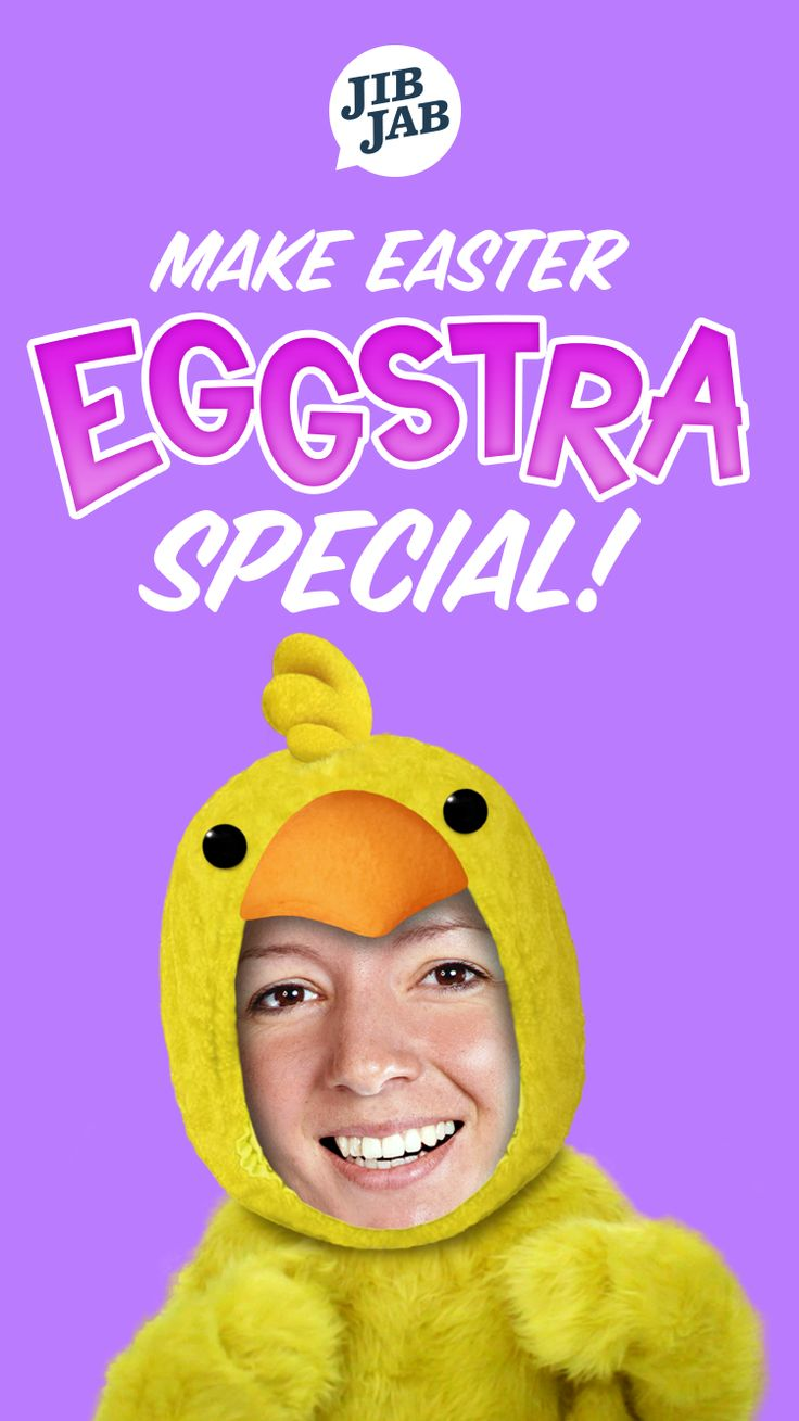 Cast your friends and family in the funniest Easter eCards around... with JibJab!