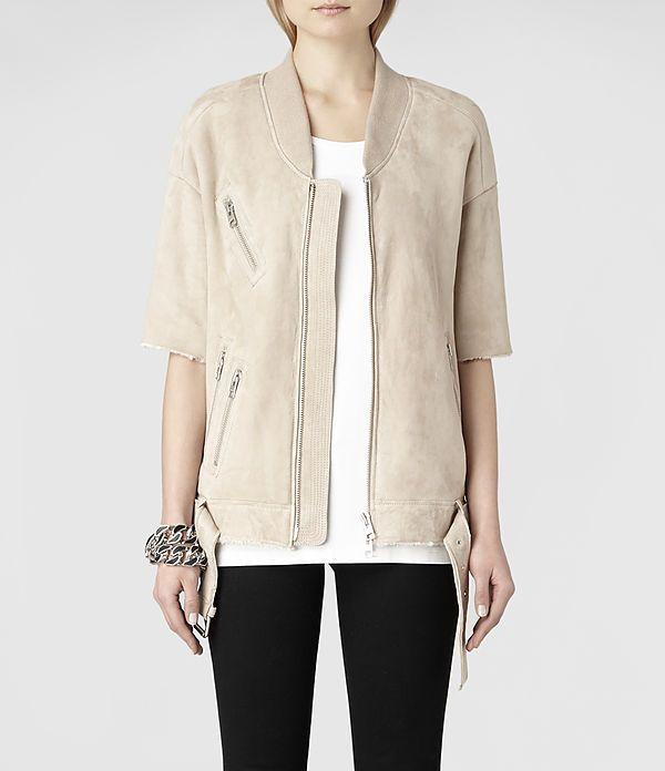 Giacche in Pelle AllSaints Donna | Biker, Gilet, Gonne & Pantaloni