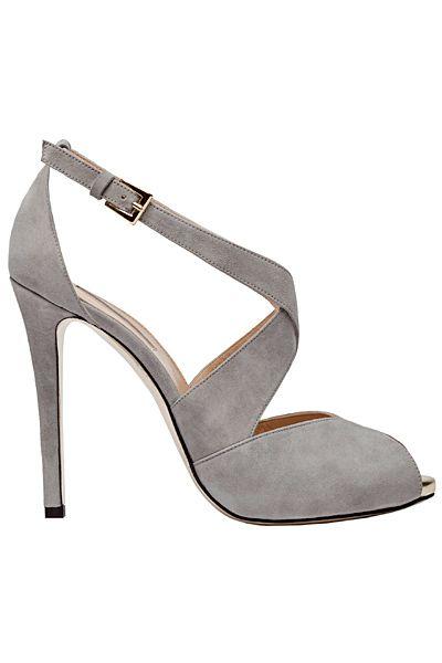 Just wish they weren't open toe and slightly shorter heel. ..