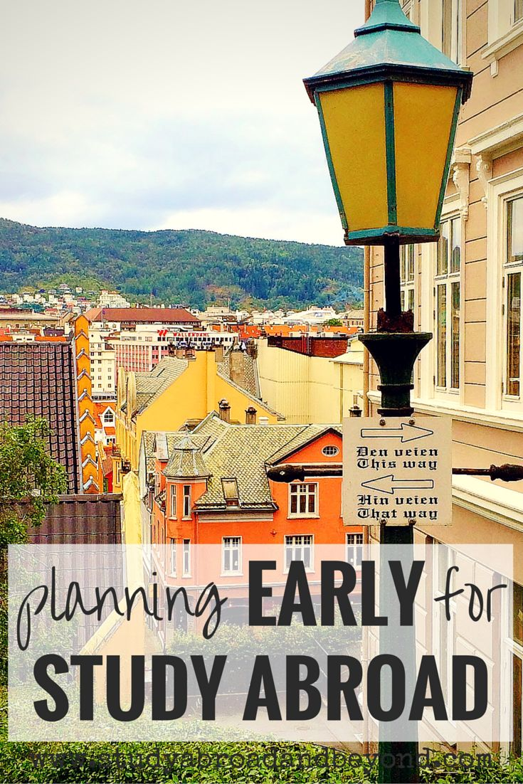 Which way will you choose for studying abroad? If you start planning early, you can go often!