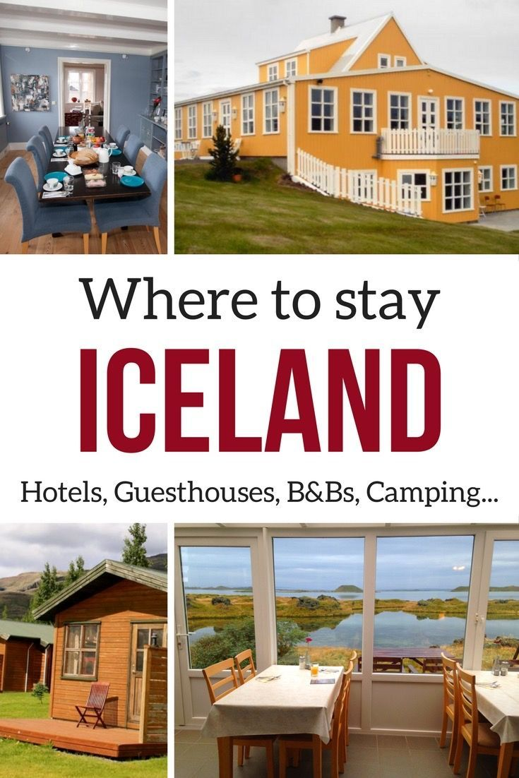 Planning a trip to Iceland? Find out the various accommodation options and learn more about 12 suggestions of places to stay. | Iceland Accommodations | Iceland Travel | Iceland Hotels | Where to stay in Iceland | Iceland itinerary