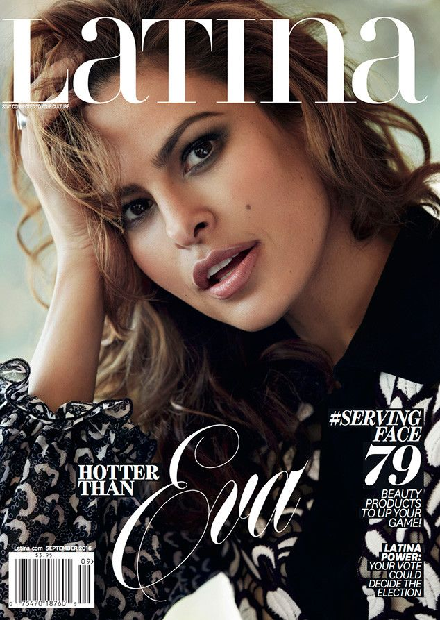 Eva Mendes, Latina: 2016 September Issue Covers