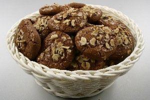 Chokoladesmåkager med nødder