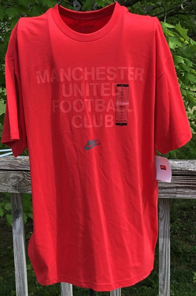 6f5190df801 Nike Manchester United Football Club XL T Shirt This Is New With TagNICE  SHIRT  fashion