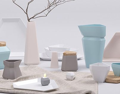"""Check out new work on my @Behance portfolio: """"Set of dishes"""" http://be.net/gallery/48453147/Set-of-dishes"""