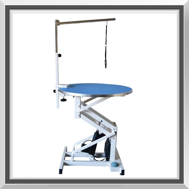 Flying Pig Z Lift Round Electric Dog Pet Grooming Table