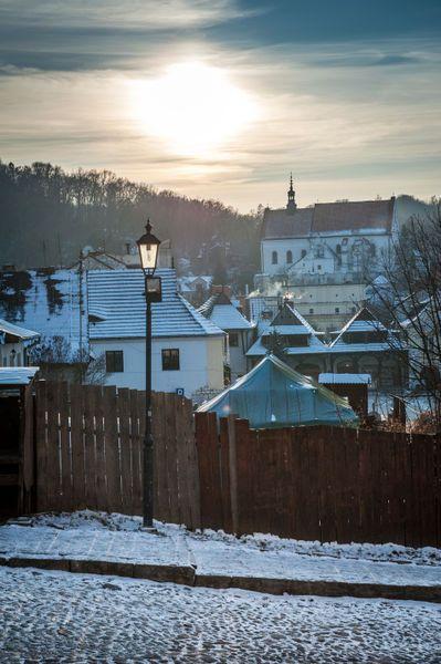 Sundown over Kazimierz Dolny, Poland by Jacek  Kadaj