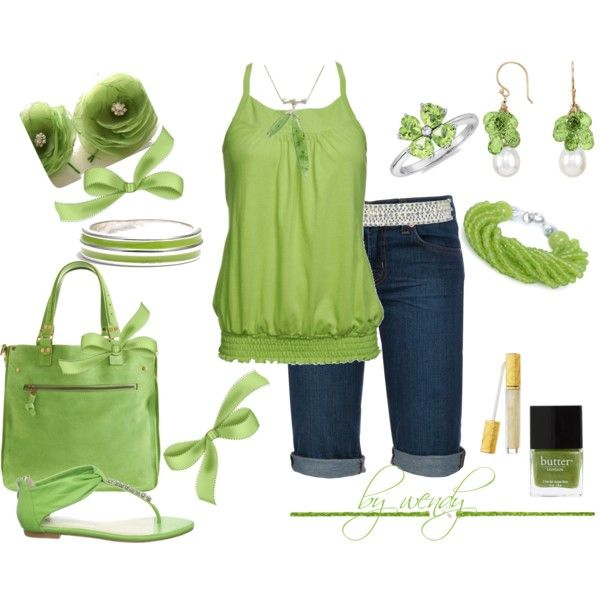 Cute: Lindsay Outfits, Green Outfits, Fave Colors, Tanks