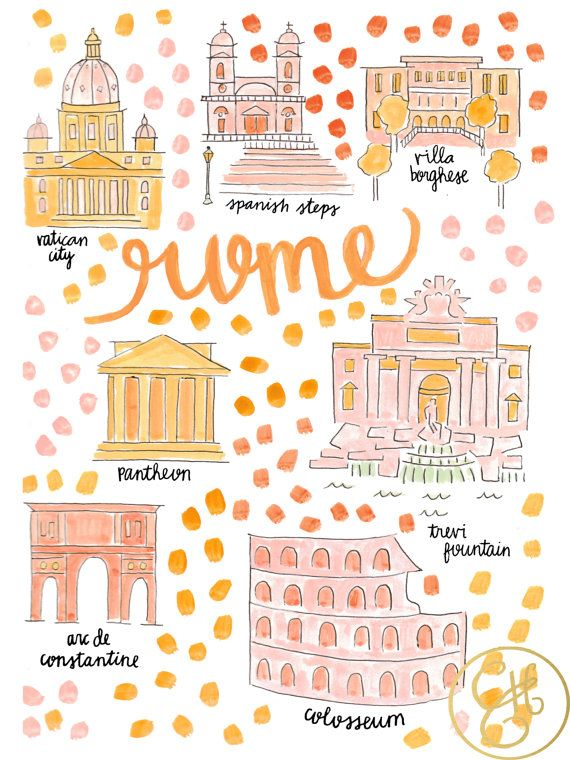 http://www.cheapholidayticket.com Rome Map Print ... for where the miracle happened ;)