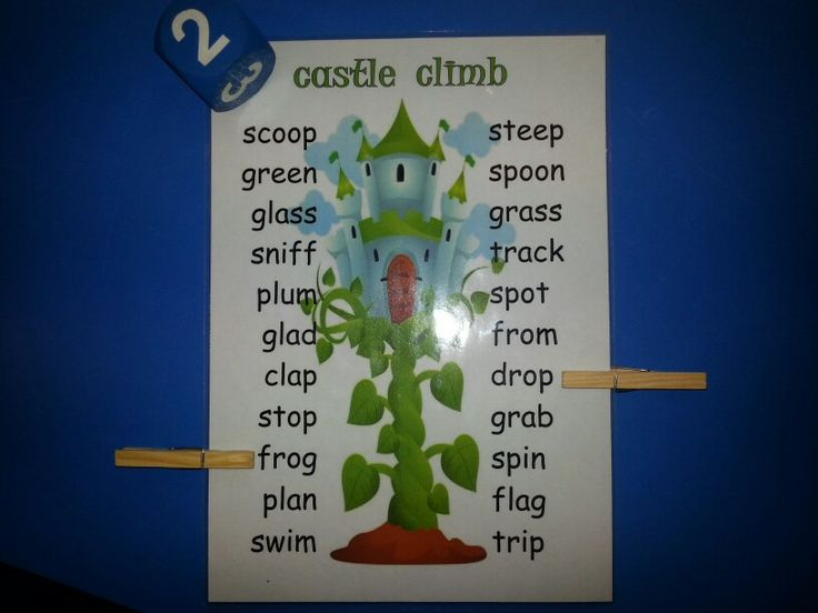 Castle climb game: roll the dice and move your peg up the list of CCVC words, blend the word, and you can stay there. Who will reach the top first? Who will blend the most words? We play this with a plus and minus dice too - lots of moving up and down! LG☆