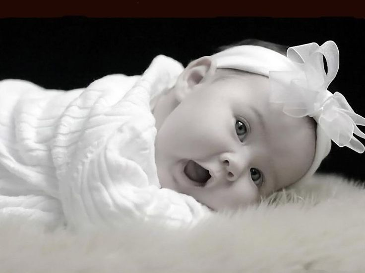 Cute Baby - sweety-babies Wallpaper