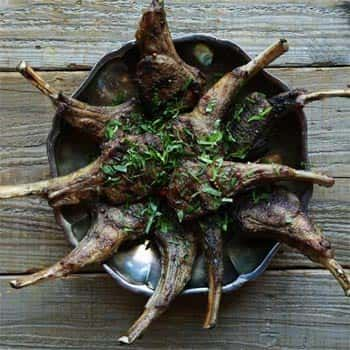 Try these Mediterranean Grilled Rack of Lamb Lollipops Recipe at your next get together. Learn how to make a delicious spice rub!