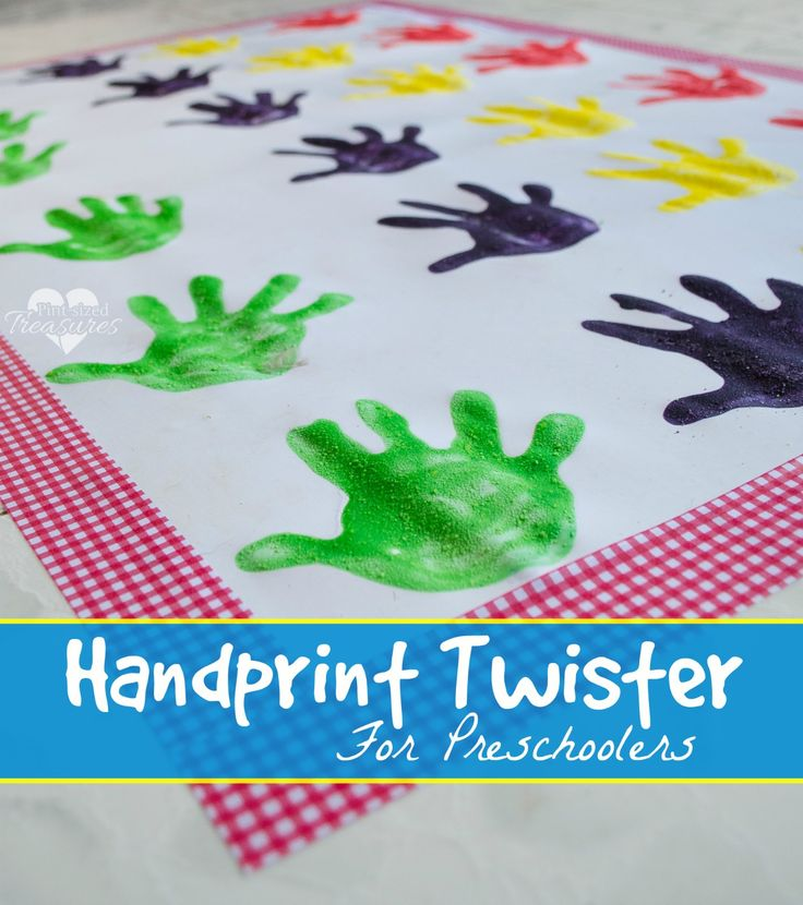 handprint activities for preschoolers