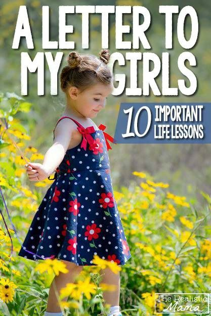 Letter to my daughter - 10 life lessons I hope to teach.
