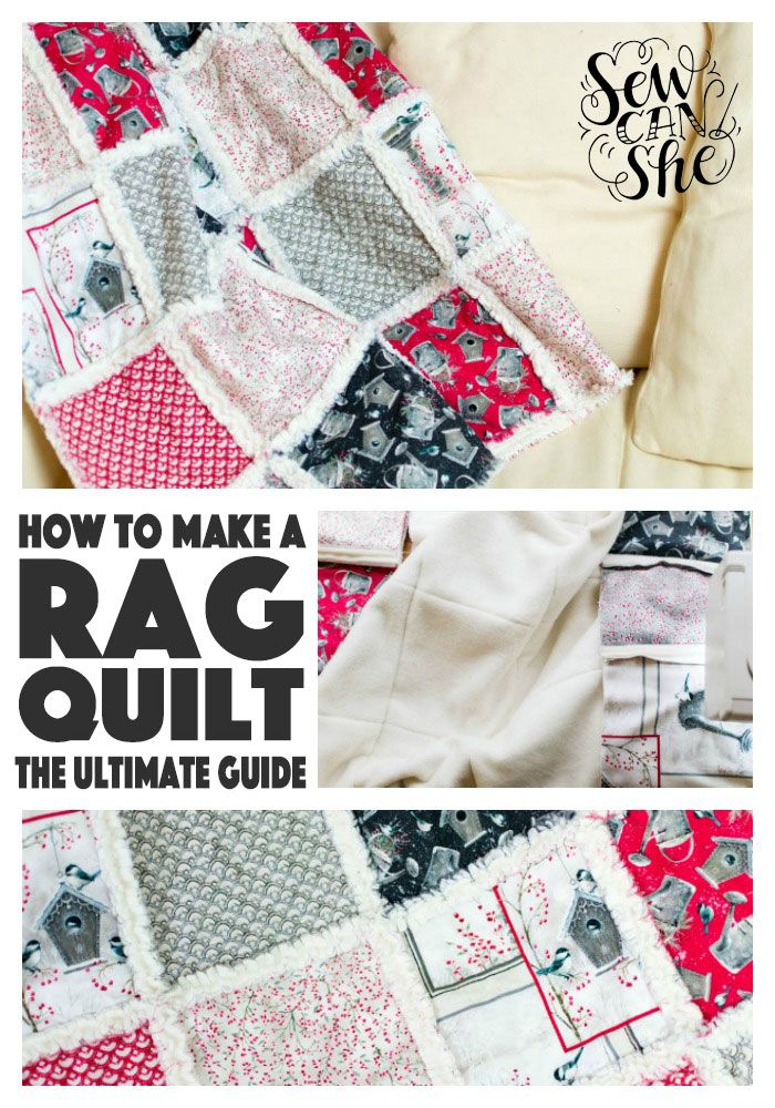 How to make a rag quilt!