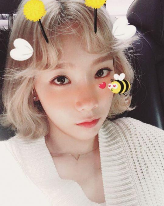 """少女時代 テヨン、ミツバチに変身したセルフショットを公開""""キュートな表情"""" - ENTERTAINMENT - 韓流・韓国芸能ニュースはKstyle"""