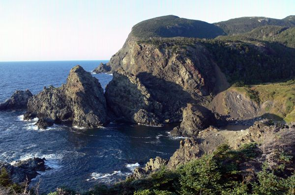 Dramatic coastline at Bottle Cove, a short drive from Corner Brook, NL