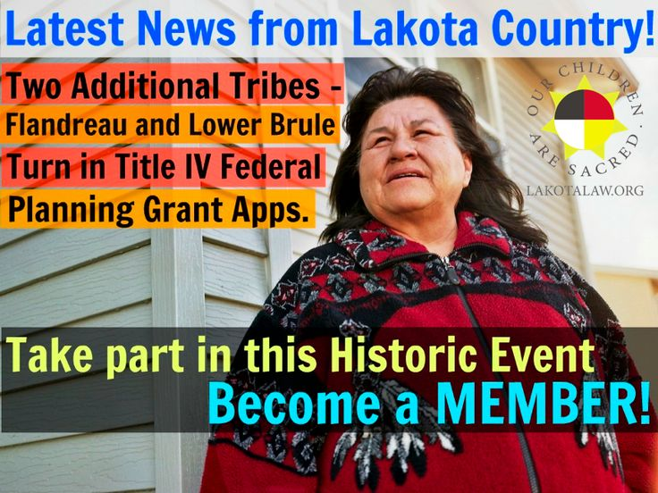 Take part in this historic event by becoming a MEMBER: http://lakotalaw.org/donate-new and help the Lakota tribes reclaim their sovereignty  The most recent event for the Lakota tribes of South Dakota, with assistance from A Positive Tomorrow, is that 8 out of 9 of the tribes have now submitted their Title IV Federal Planning Grant Applications! The Lakota tribes are standing together to regain their sovereignty by demanding control over their own children.