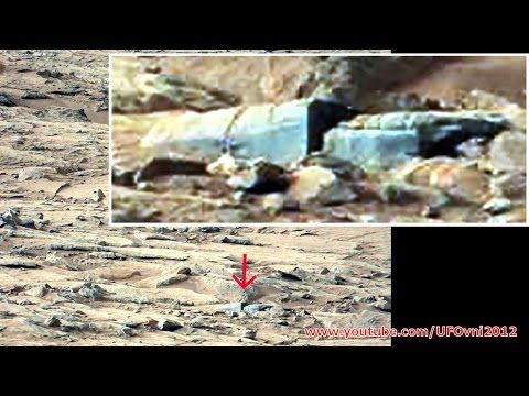 NASA Mars Rover Finds New 'Ancient Structure,' Evidence Of 'Intelligent Species' UFOlogist Says~   Once again, the NASA Mars Curiosity Rover has photographed what some alien hunters and UFO researchers believe is firm evidence of ancient life on Mars — and not just life, but an advanced, intelligent civilization.