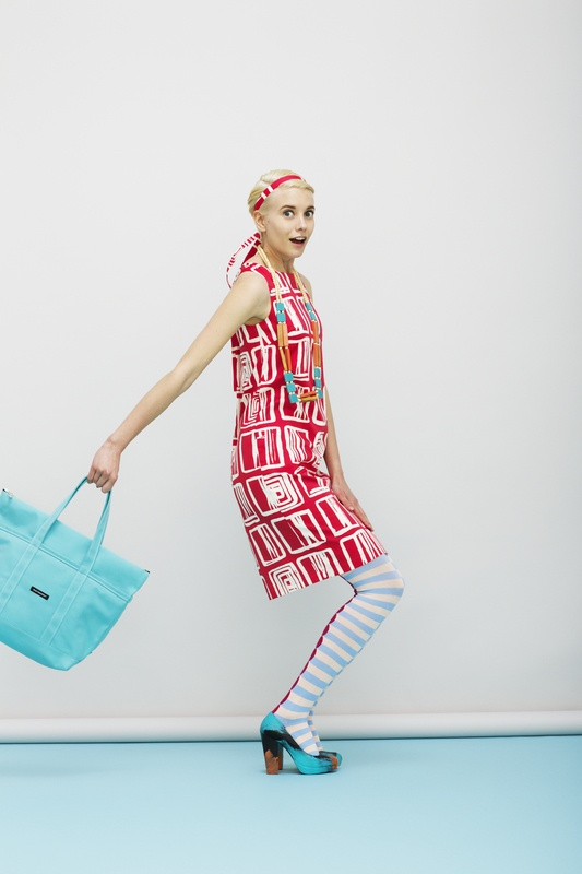 Marimekko´s Spring 2013 - Love the red and aqua together