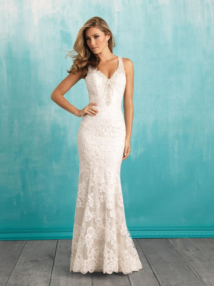 61 best Allure Bridal images on Pinterest | Short wedding gowns ...